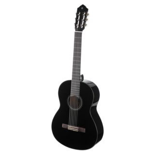 Yamaha C40 Full-sized Classical Guita r, Black   Produktbillede