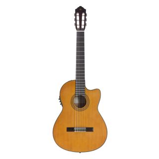 Yamaha CGX 122 MCC  Red Cedar Natural Product Image