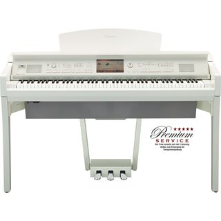 Yamaha CVP 709-PWH Digital Piano Polished White Produktbillede