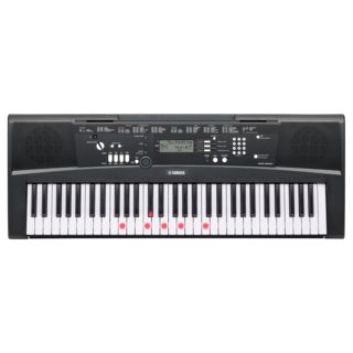 Yamaha EZ-220 Portable Keyboard UK-Version, english plug Produktbild
