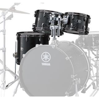 Yamaha Live Custom Tom Pack LNP4F3, Black Wood #BKW Produktbillede