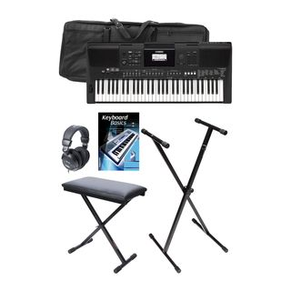 Yamaha PSR-E463 Deluxe - Set UK Product Image