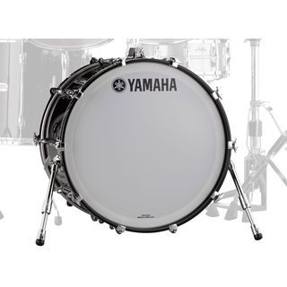 "Yamaha Recording Custom BassDrum 22""x18"", Solid Black Product Image"