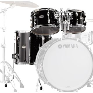 Yamaha Recording Custom Tom Pack RBP4F3, Solid Black Product Image