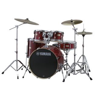 Yamaha Stage Custom Birch ShellSet, Stage, Cranberry Red #CR Produktbillede