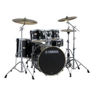 Yamaha Stage Custom Birch ShellSet, Studio, Raven Black #RB Product Image