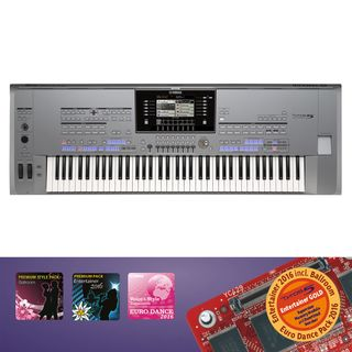 Yamaha Tyros 5 76 Entertainer Gold Produktbillede