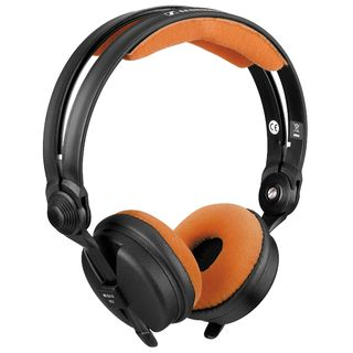 Zomo Earpad Set VELOUR for Sennheiser HD 25 Tangerine Product Image