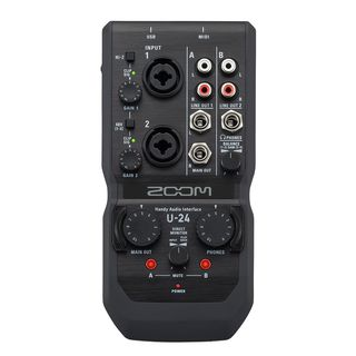 Zoom U-24 Handy Audio-Interface Produktbild