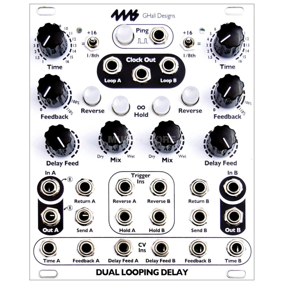 4ms DLD Dual Looping Delay Produktbild