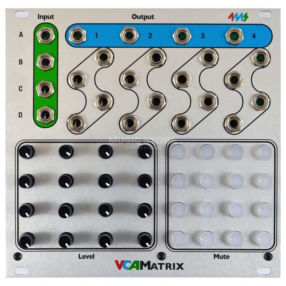 4ms VCA Matrix Produktbild
