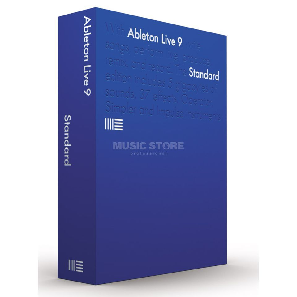 Ableton LIVE 9 Standard Educational Deutsch Produktbild