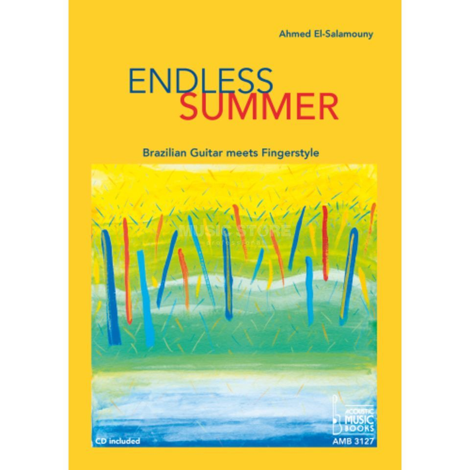 Acoustic Music Books Endless Summer Ahmed El-Salamouny TAB Produktbillede