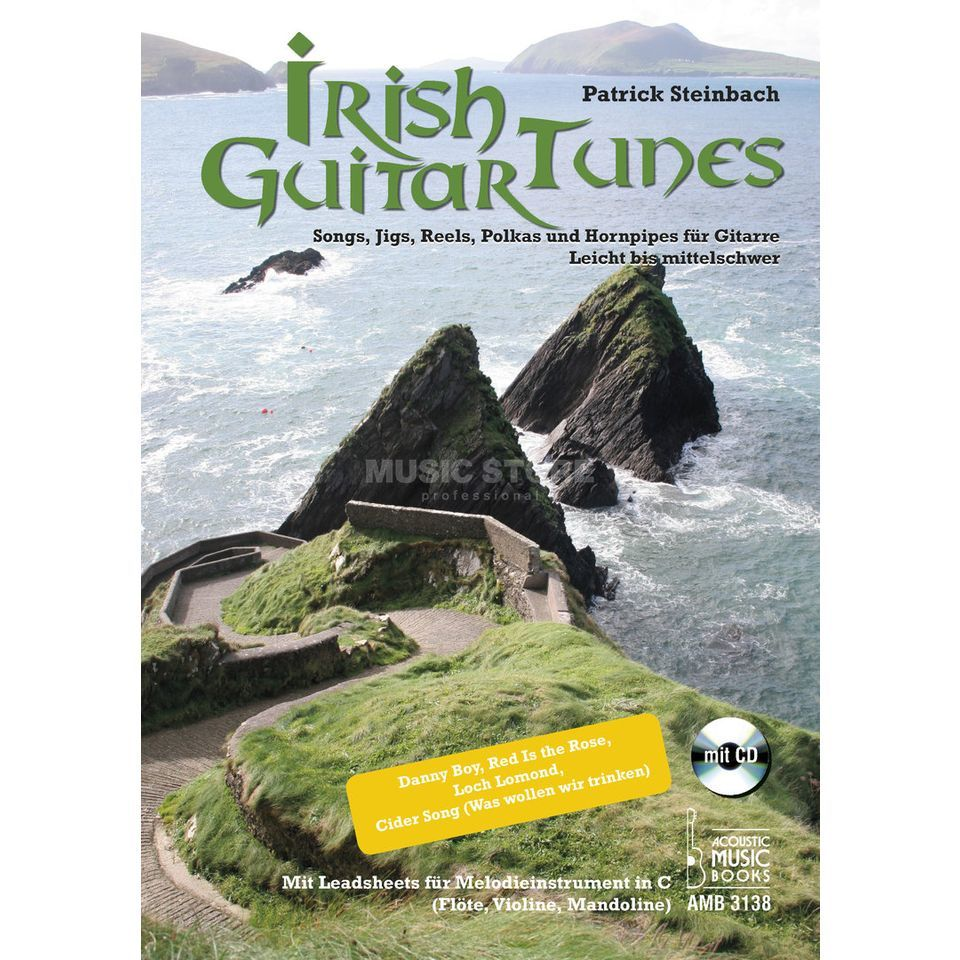Acoustic Music Books Irish Guitar Tunes Produktbillede