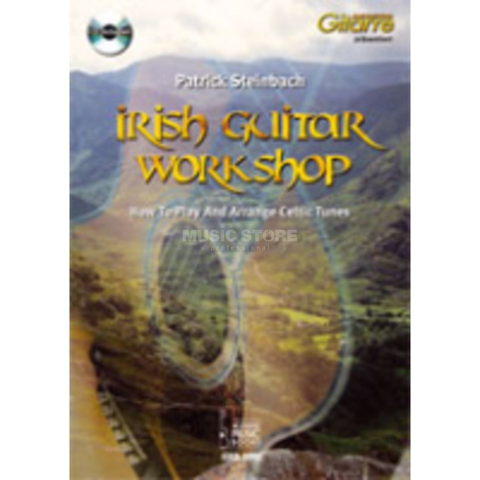 Acoustic Music Books Irish Guitar Workshop Patrick Steinbach, Buch/CD Produktbillede