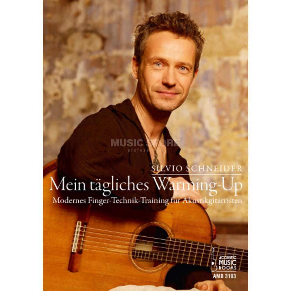 Acoustic Music Books Mein tägliches Warming-Up Product Image