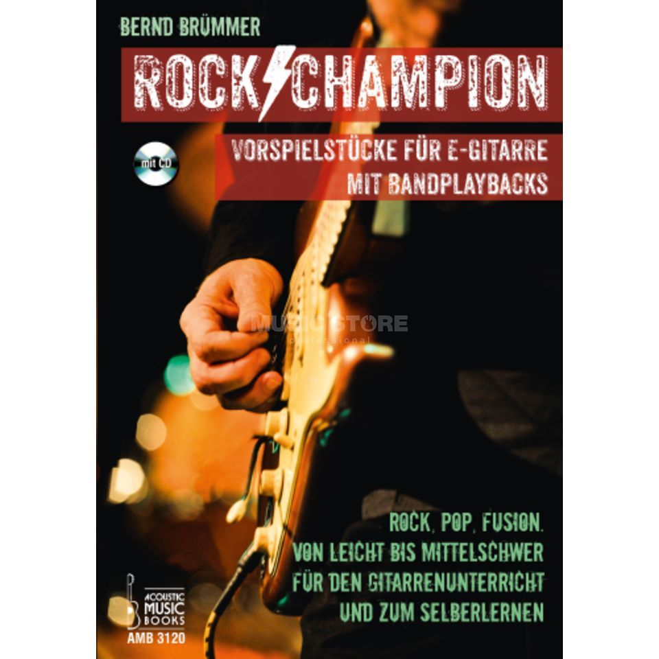 Acoustic Music Books Rock Champion Produktbillede