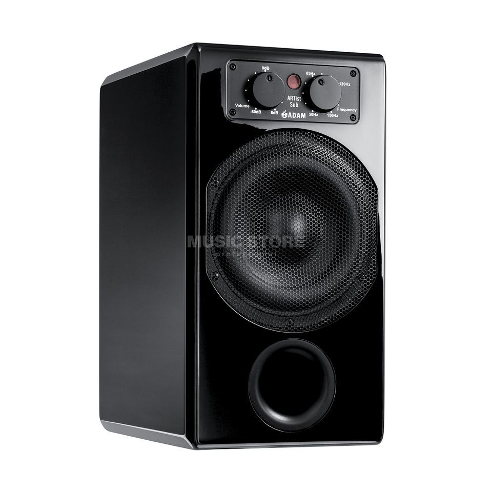 adam audio artist sub black high end multimedia subwoofer. Black Bedroom Furniture Sets. Home Design Ideas
