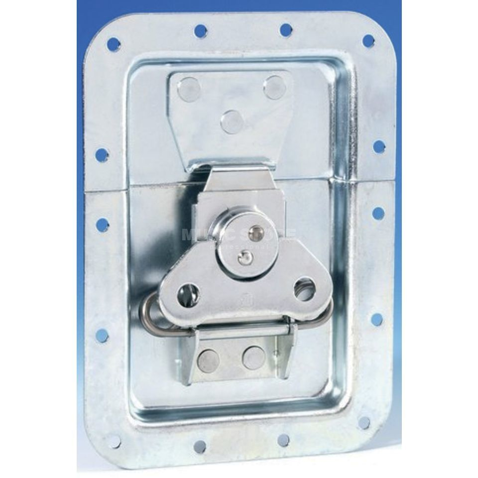 Adam Hall 17254 S - Butterfly Latch large with Spring non cranked 10 mm deep Produktbillede