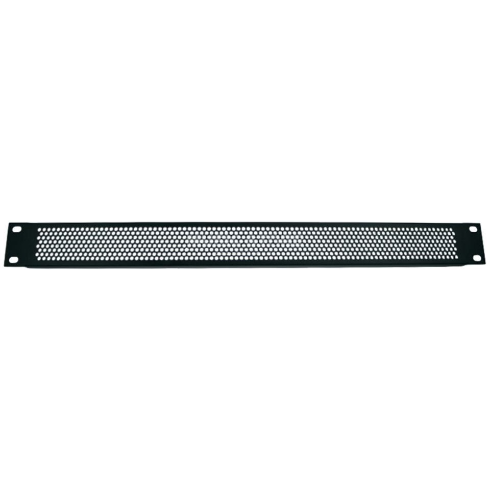 "Adam Hall 19"" U-Ventilation Panel 1HU Round Hole Produktbillede"