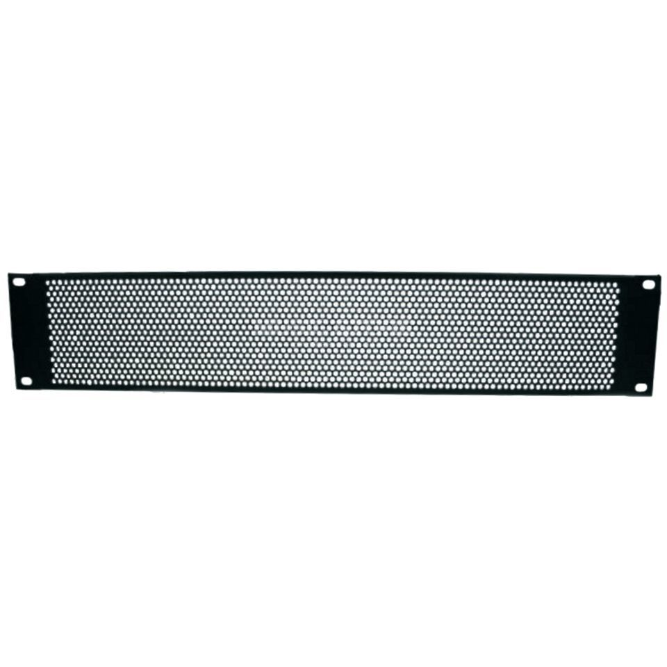"Adam Hall 19"" U-Ventilation Panel 2HU Round Hole Produktbillede"