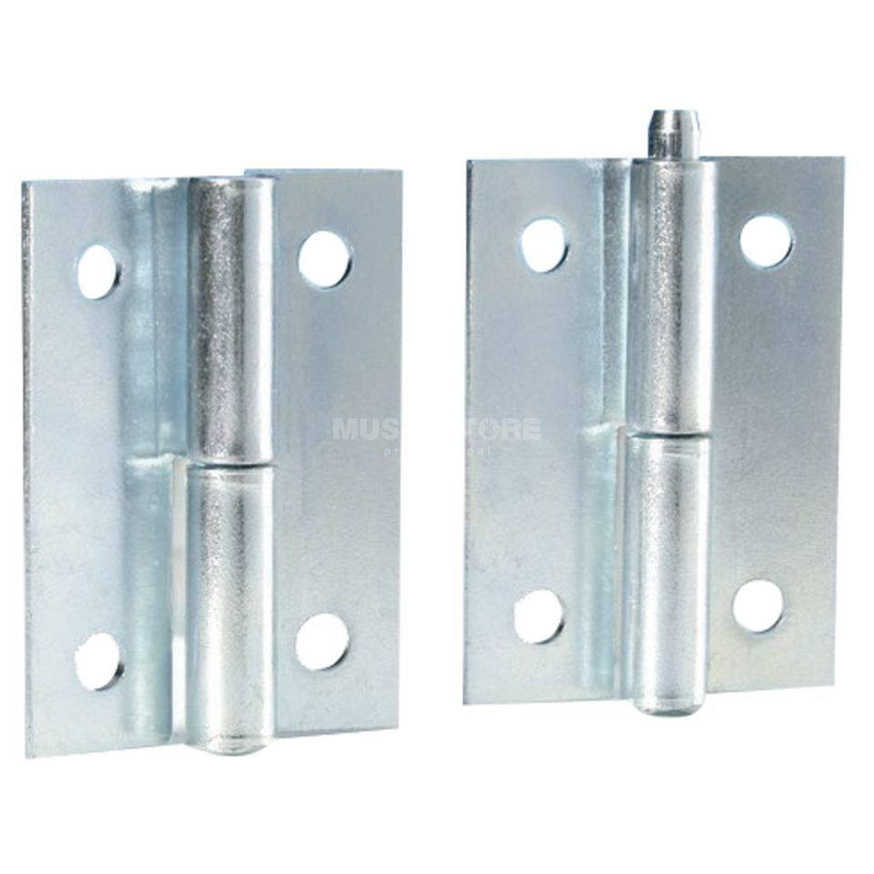 Adam Hall 2270 Lift-Off Hinge with pin galvanized / pair Produktbillede