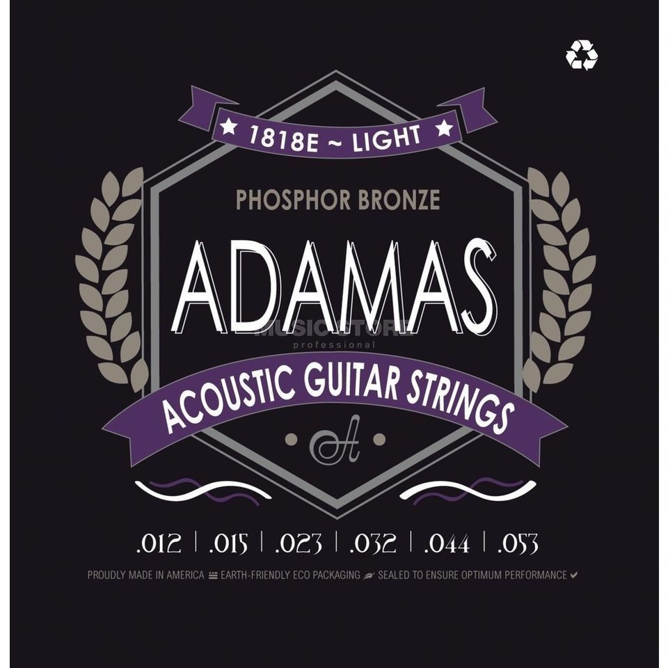 Adamas 1818E 12-53 Acoustic Phosphor Bronze Product Image