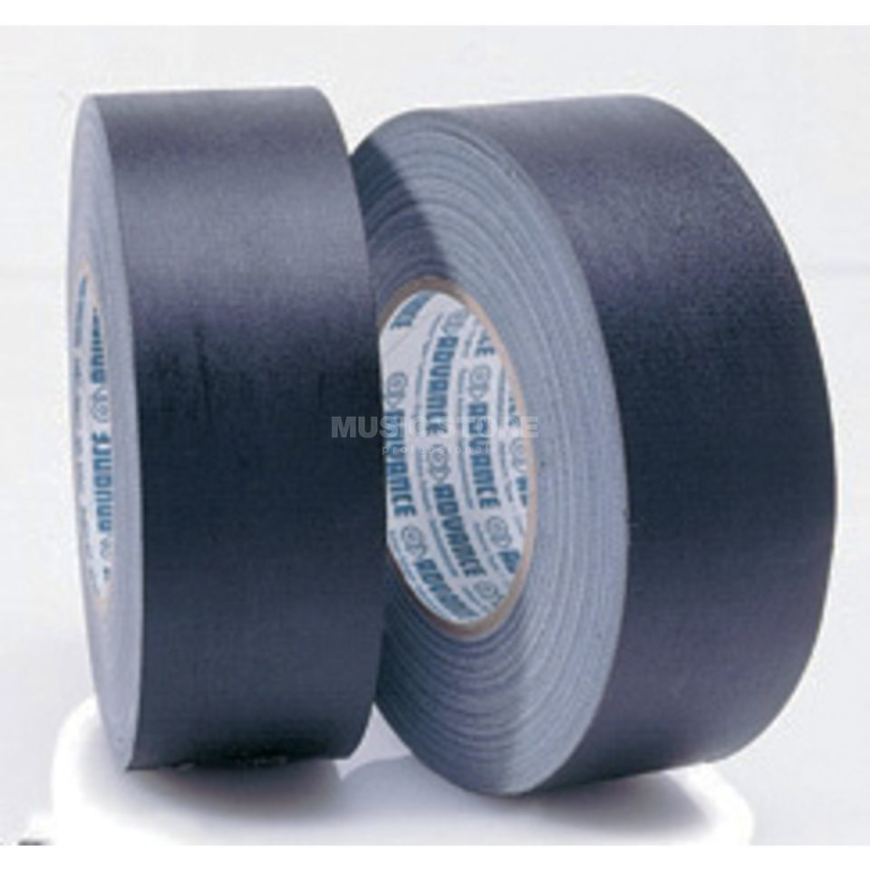 Advance AT159 Gaffa Tape, schwarz 50 m lang, matt Produktbild