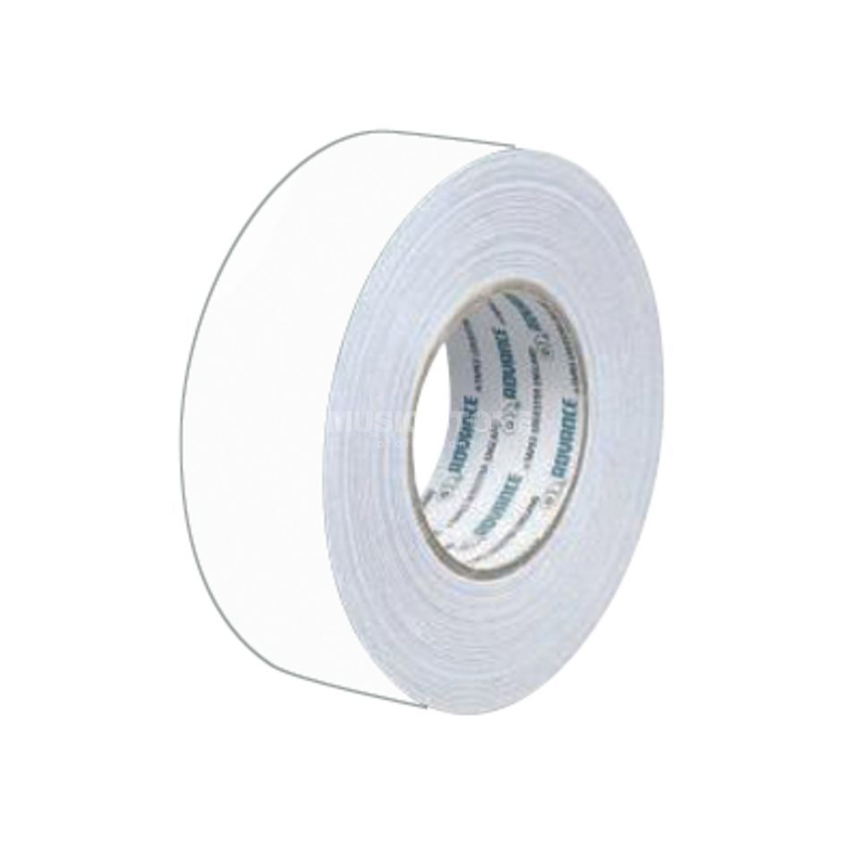 Advance AT159 Gaffa Tape white 50m Produktbillede