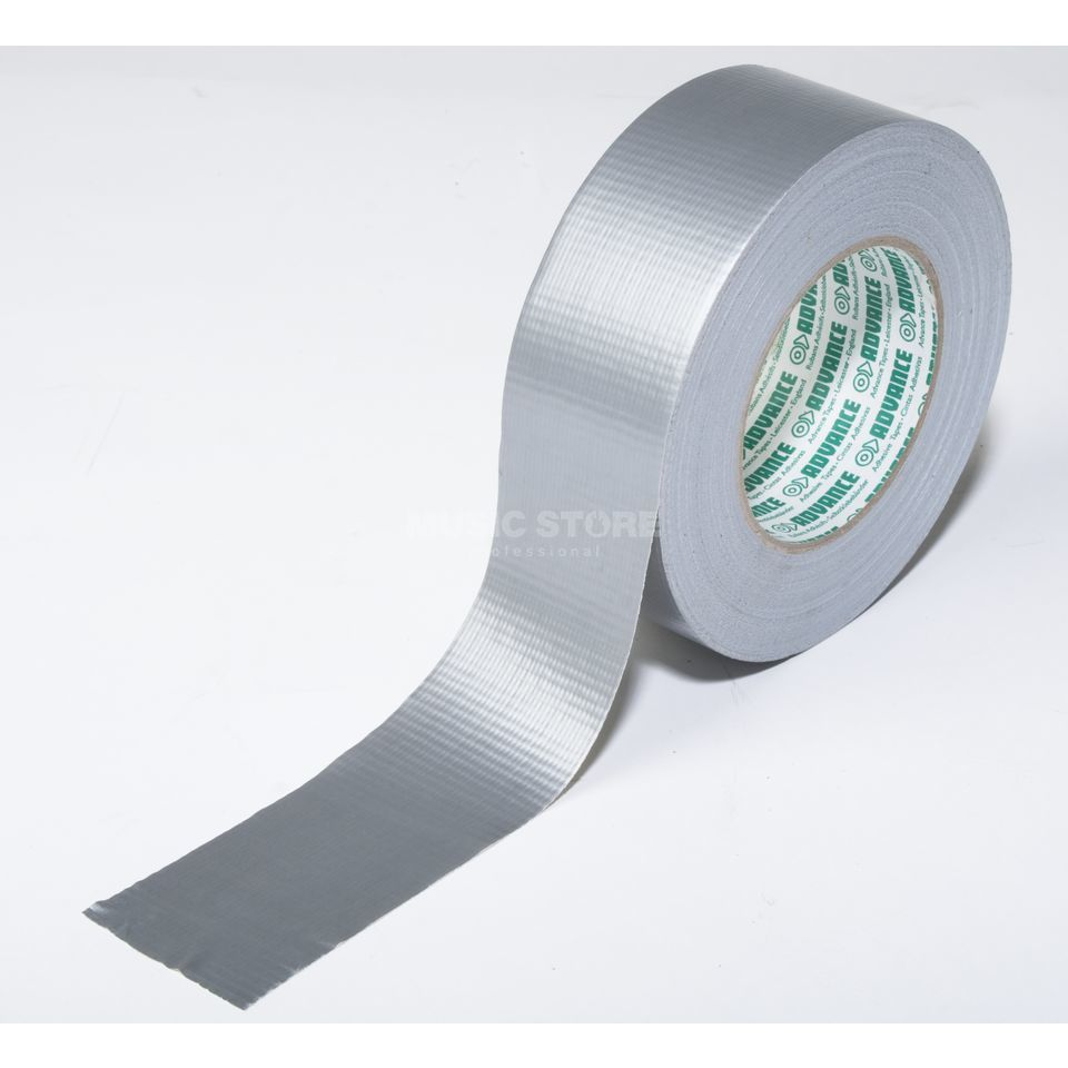 Advance AT165 Gaffa Tape silver 50 m / 50 mm wide Product Image