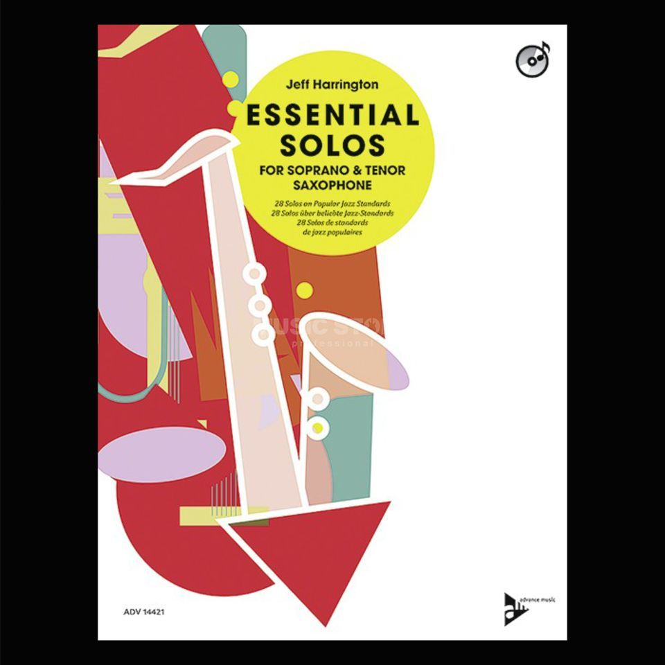 Advance Music Essential Solos for Tenor Saxophone Produktbild