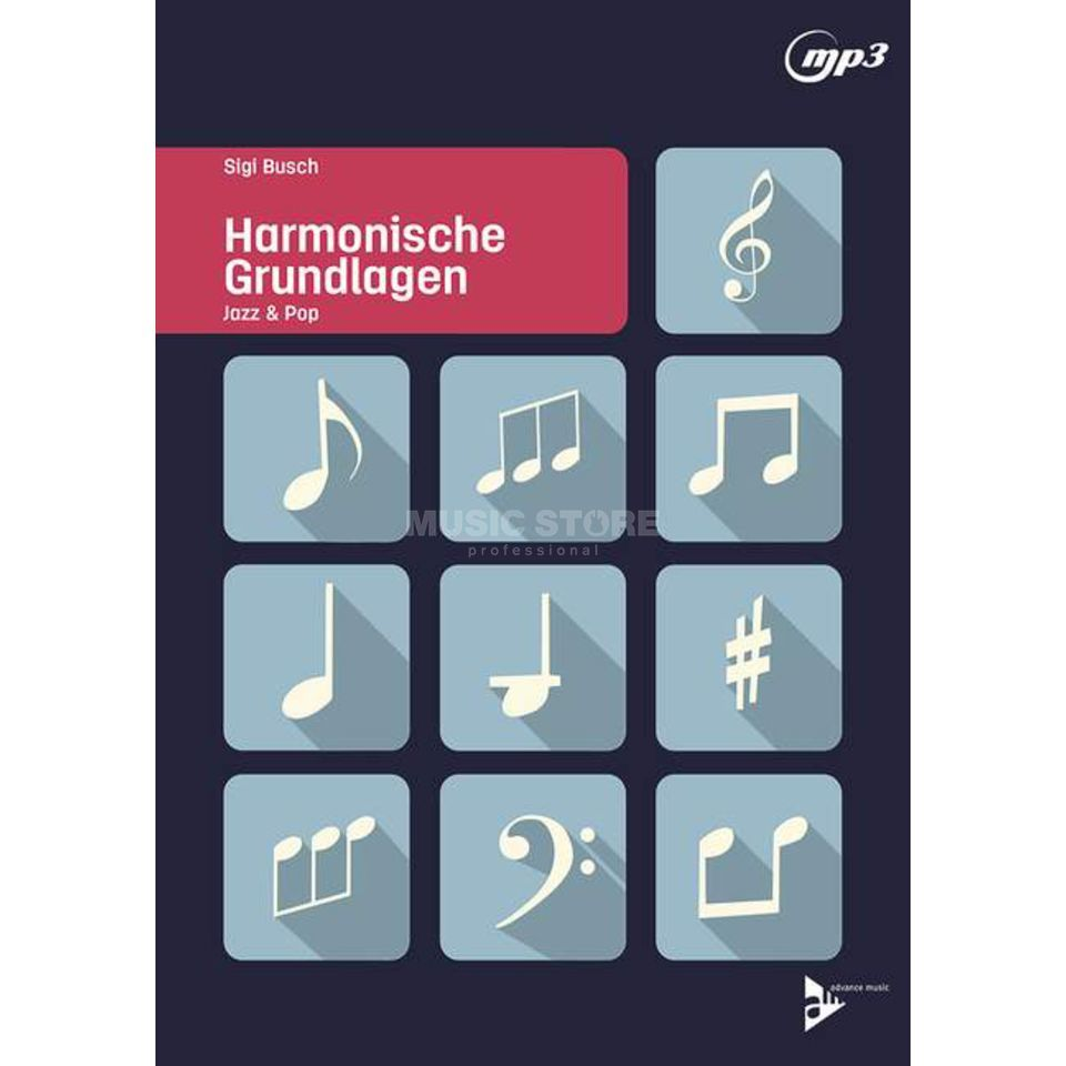 Advance Music Harmonische Grundlagen Jazz & Pop Produktbild