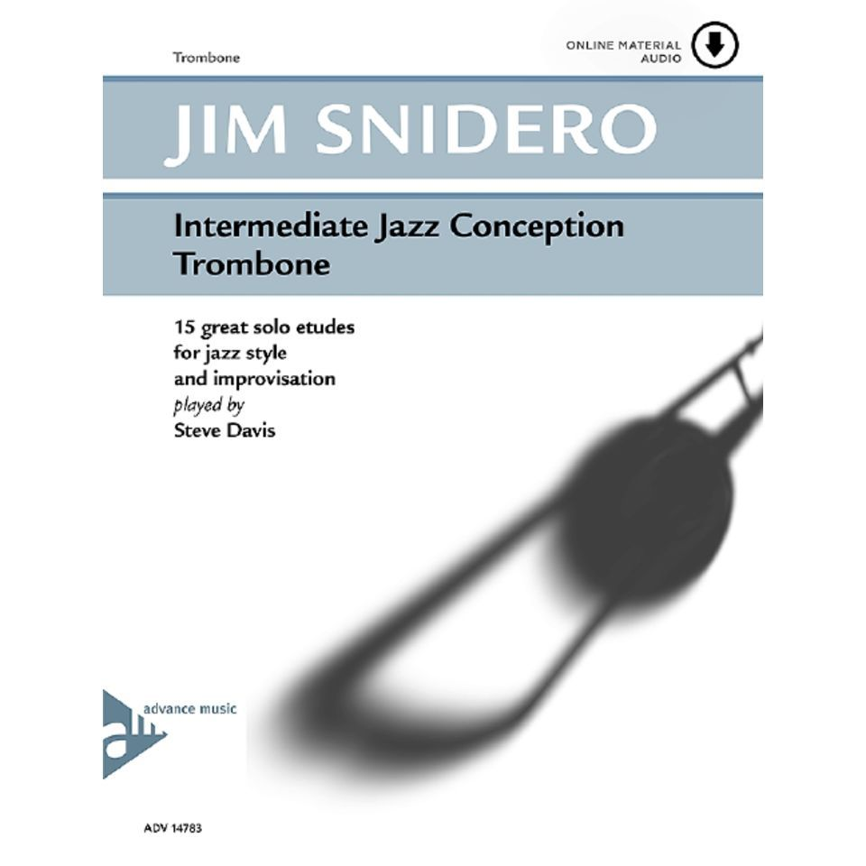 Advance Music Snidero: Intermediate Jazz Conception, Posaune & CD Produktbillede