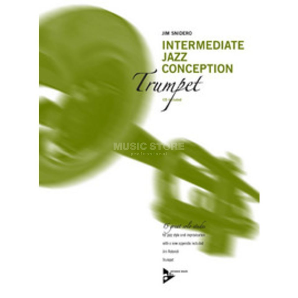 Advance Music Snidero: Intermediate Jazz Conception, Trompete & CD Produktbild
