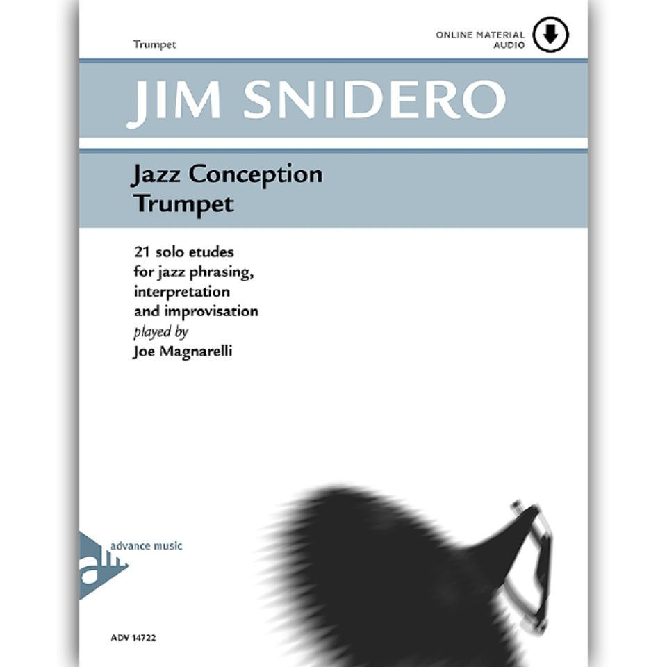 Advance Music Snidero: Jazz Conception Jim Snidero, Trompete & CD Produktbild