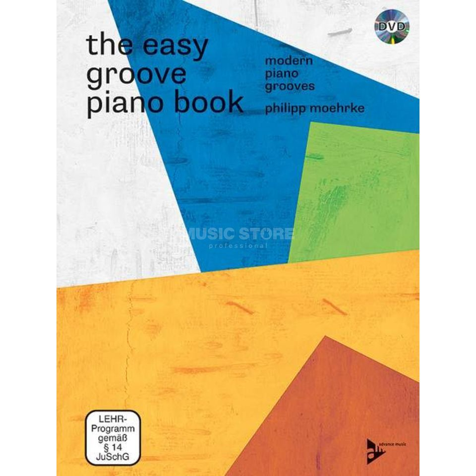Advance Music The Easy Groove Piano Book Philipp Moehrke, Buch und DVD Produktbillede