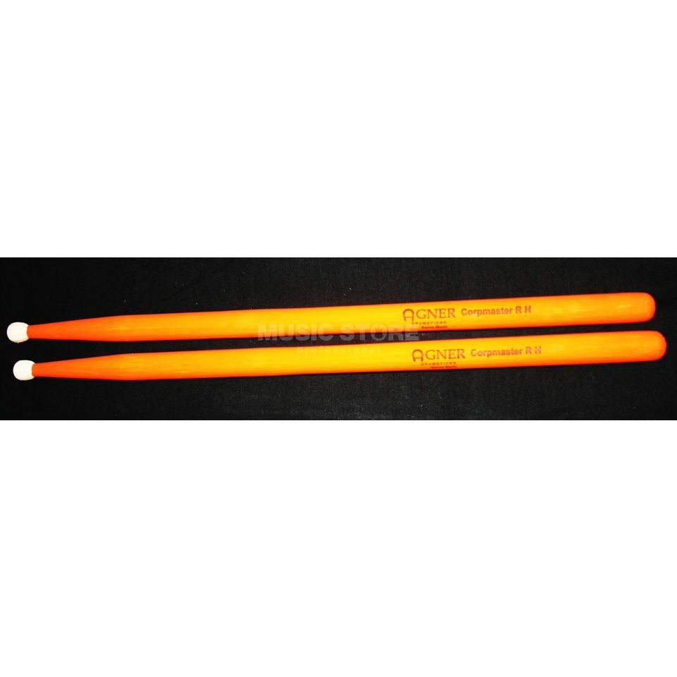 Agner UV-Marching Sticks, 4A, Corpmaster R H, Orange Produktbild