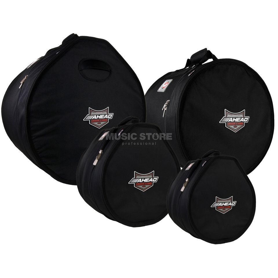 Ahead Armor Cases Drum Bag Set 3, ARSET-3, 22, 10, 12, 17 Produktbillede