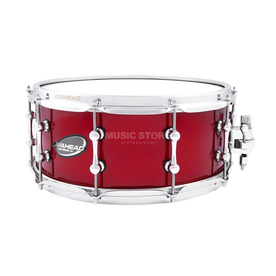 "Ahead Sticks AS614RC Snare 14""x6"", Red Candy on Brass, B-Stock Produktbild"