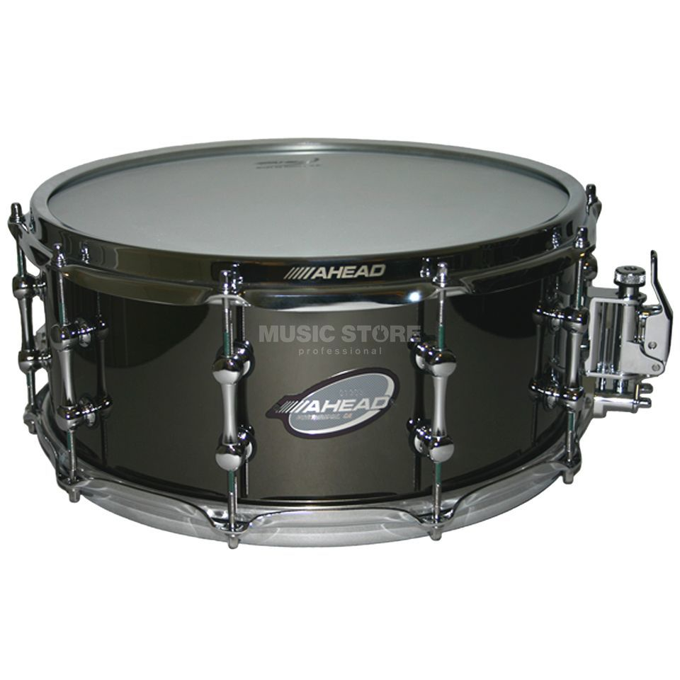 "Ahead Sticks Black on Brass Snare 14""x6"", AS615 Produktbillede"