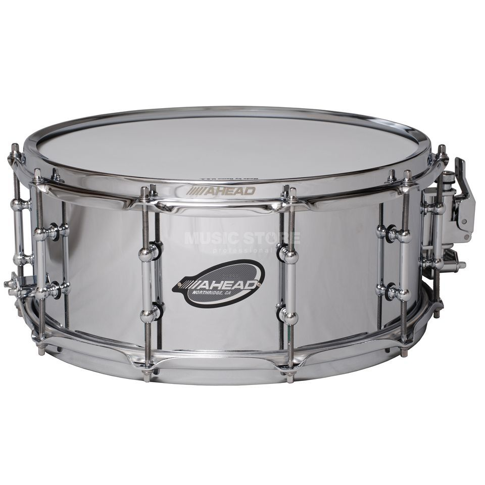 "Ahead Sticks Chrome on Brass Snare 14""x6"", ASC615 Produktbillede"