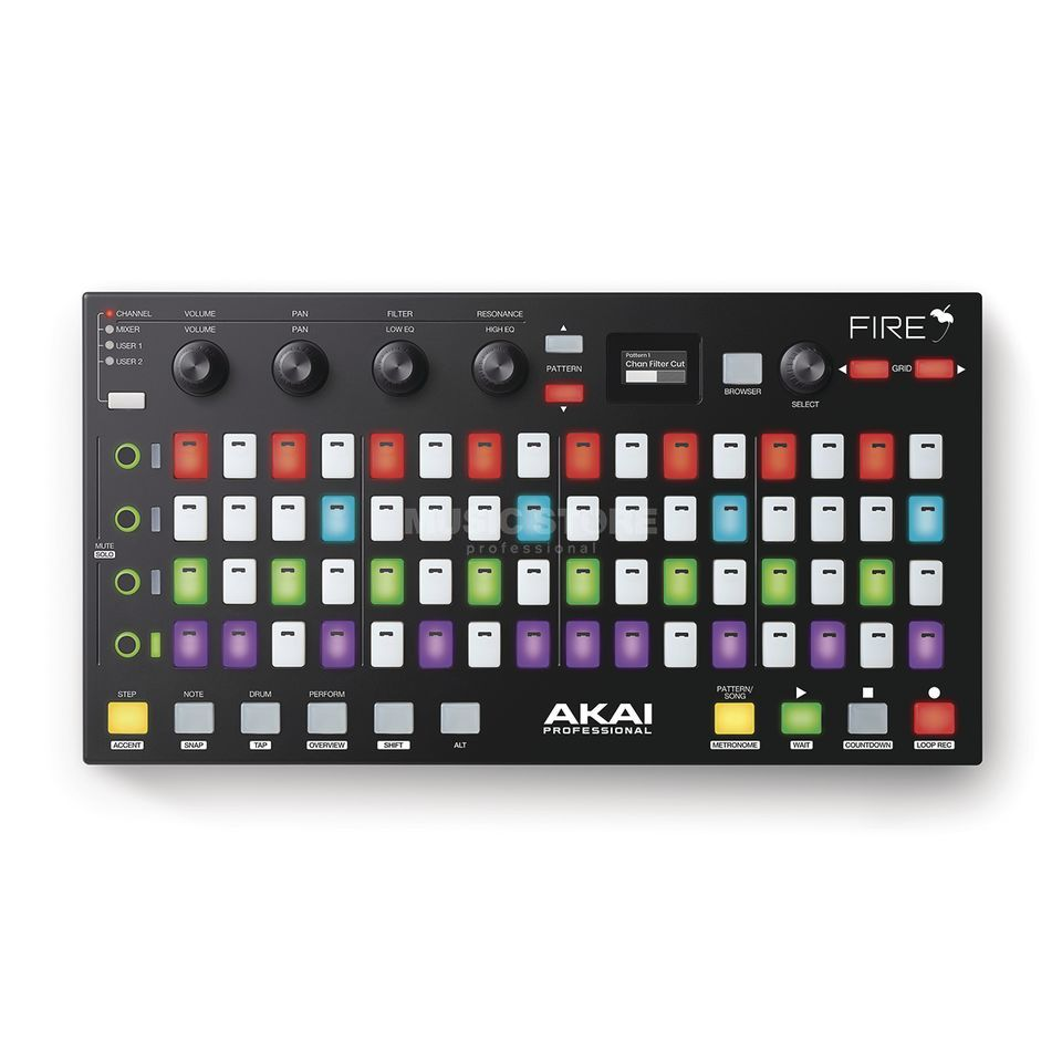 Akai Fire USB Controller for FL Studio Product Image