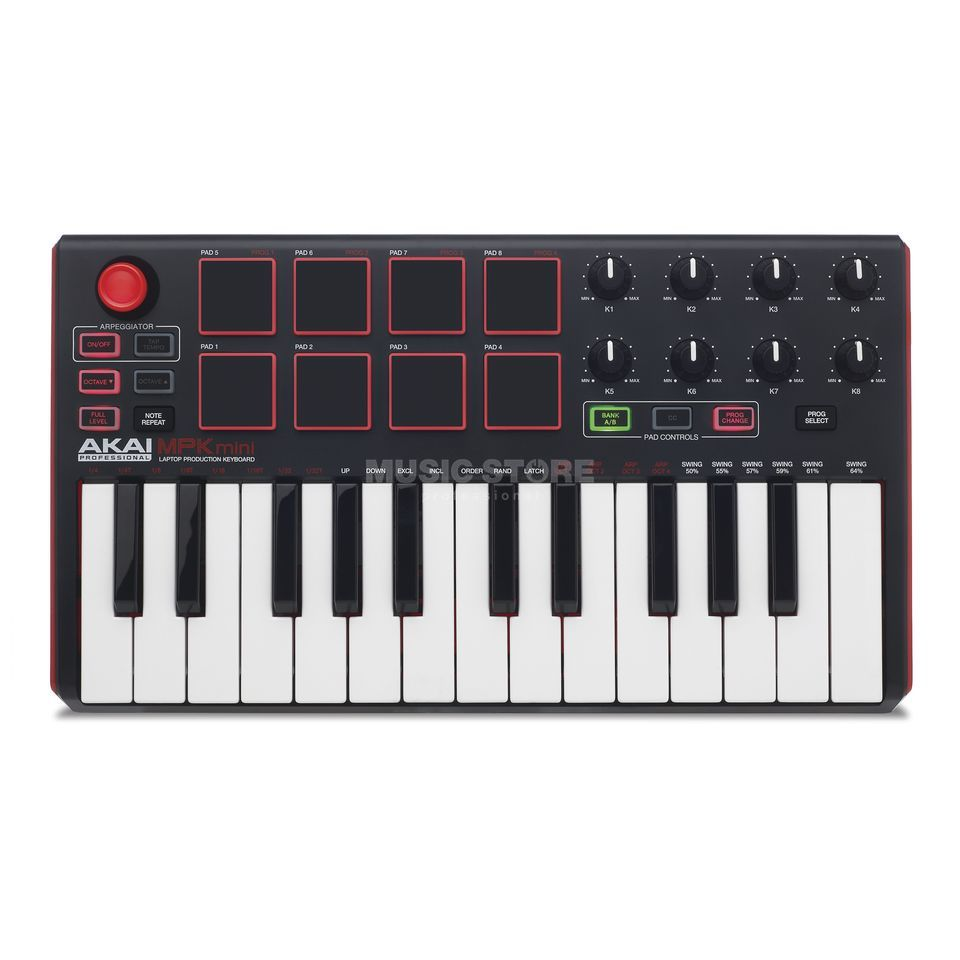 akai mpk mini how to use