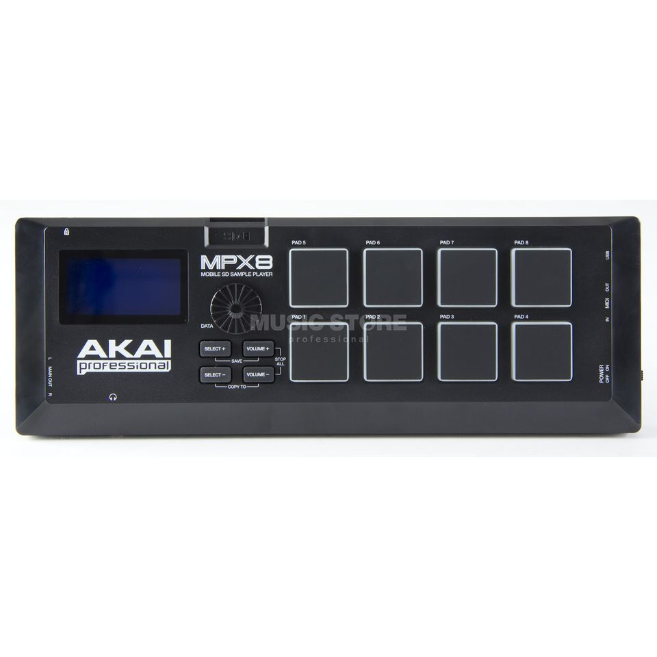 Akai MPX8 Portable SD Sample Player Produktbillede