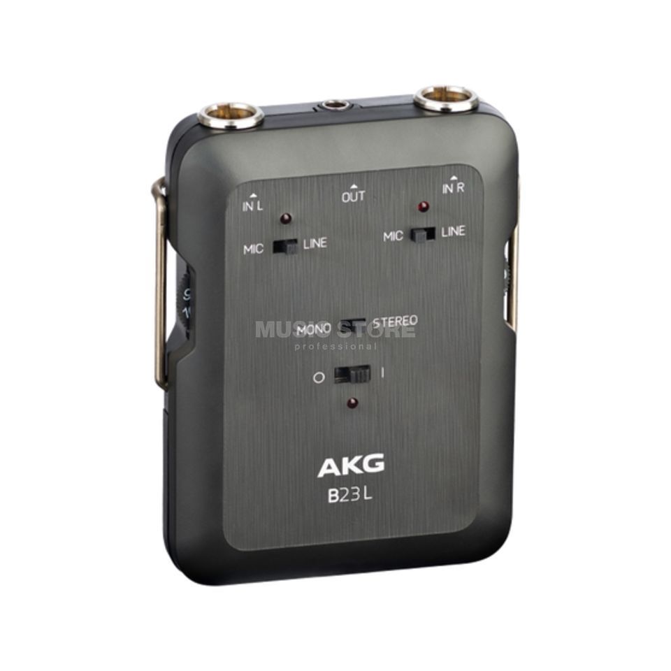 AKG B 23 L Phantom Power Device + 2-Channel mixer Produktbillede