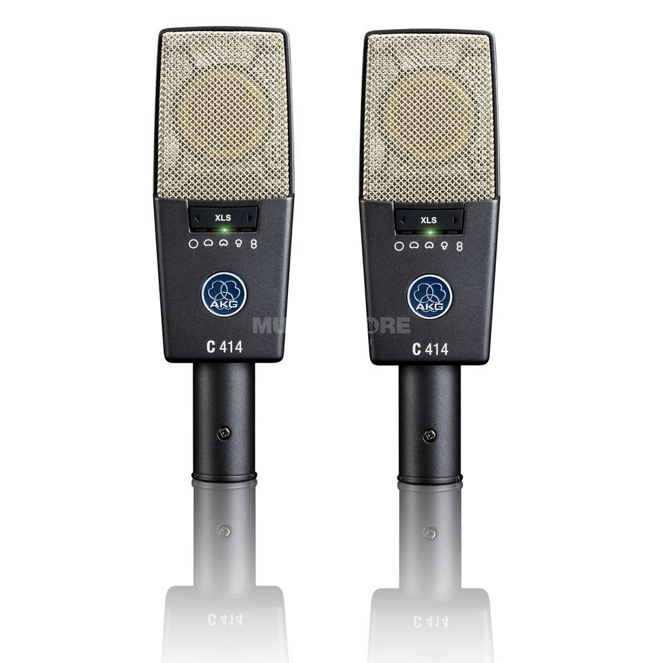 AKG C 414 XLS/ST Stereo Matched Pair Produktbillede