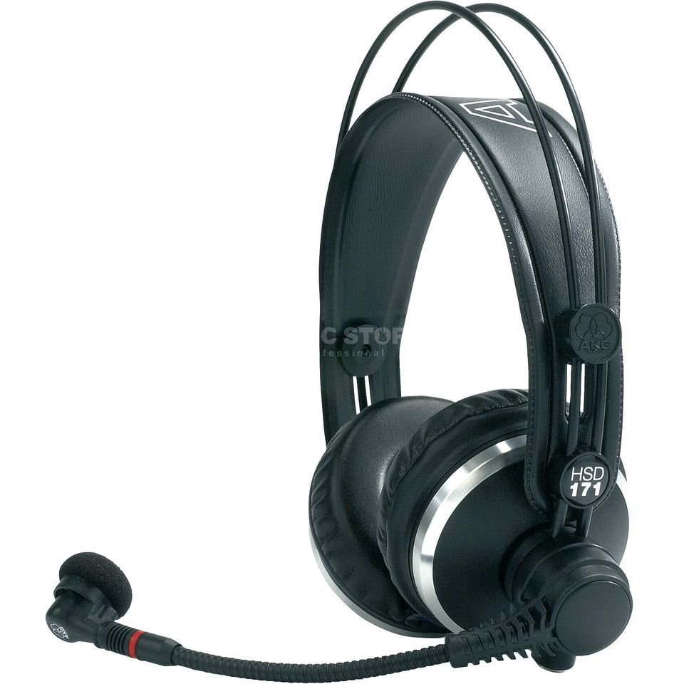 AKG HSD 171 Headset with dynamic mic, no cable Product Image