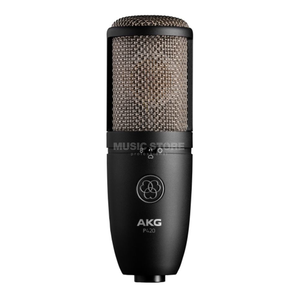 AKG P420 Studio Microphone Large Membrane K/N/A with Shock Mount Produktbillede