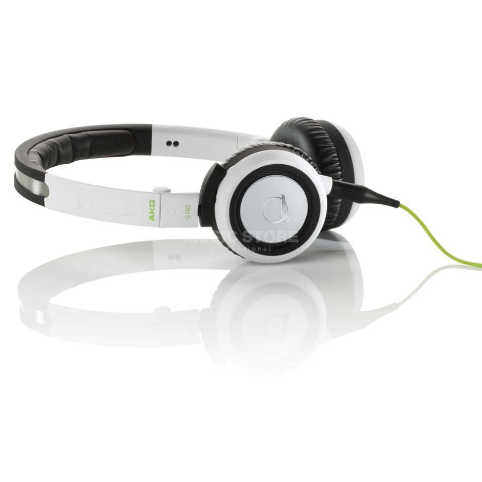 AKG Q 460 WHT Mini-Headphones, white Produktbillede