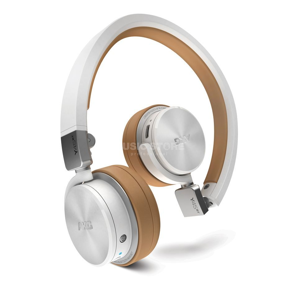 AKG Y 45BT White Bluetooth-Headphones, foldable Produktbillede